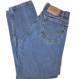 Levi's 550 Relaxed Taper Jeans * 32 X 32 USA Made